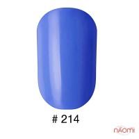 Лак Naomi 214 синий, 12 мл
