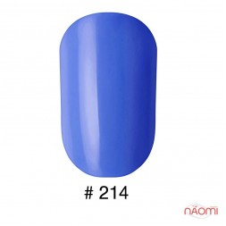 Лак Naomi 214 синій, 12 мл