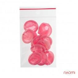 Напальчник латексный, цвет розовый (10 шт)
