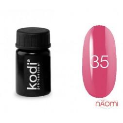 Гель-фарба Kodi Professional 35, колір рожевий, 4 мл