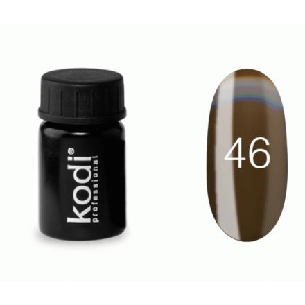 Гель-краска Kodi Professional 46 коричневый, 4 мл, фото 1, 57.00 грн.