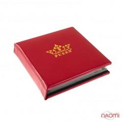 Чехол для больших пластинок  SE01A/SE01B - SE04A/SE04B, красный  9х9 см.