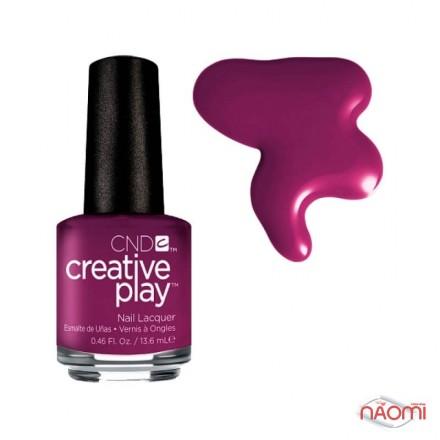 Лак CND Creative Play 476 Drama Mama, розово-фиолетовый, 13,6 мл, фото 1, 119.00 грн.
