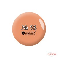 Акриловая краска Salon Professional 58 светло-персиковая, 3 мл