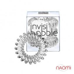 Резинка-браслет для волос Invisibobble ORIGINAL Crystal Clear, цвет прозрачный, 30х16 мм, 3 шт.