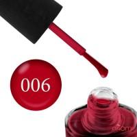 Лак NUB 006 Burlesque красный, 14 мл