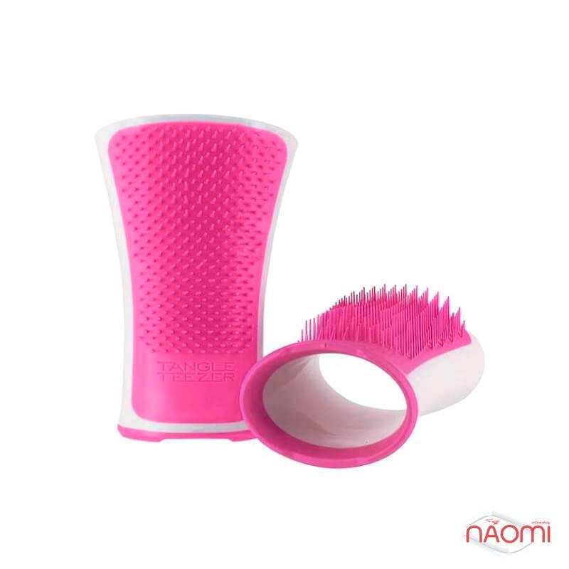 Расческа Tangle Teezer Aqua Splash Pink Shrimp, цвет розовый, фото 3, 390.00 грн.
