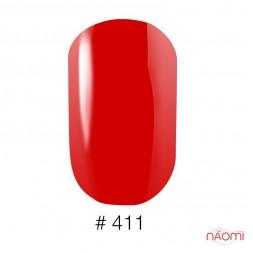 Лак Naomi 411 красный, 12 мл