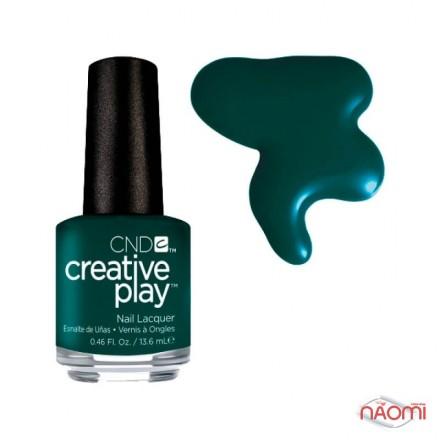 Лак CND Creative Play 434 Cut To The Chase, зеленый, 13,6 мл, фото 1, 119.00 грн.