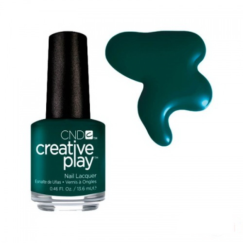 Лак CND Creative Play 434 Cut To The Chase, зеленый, 13,6 мл, фото 1, 129.00 грн.