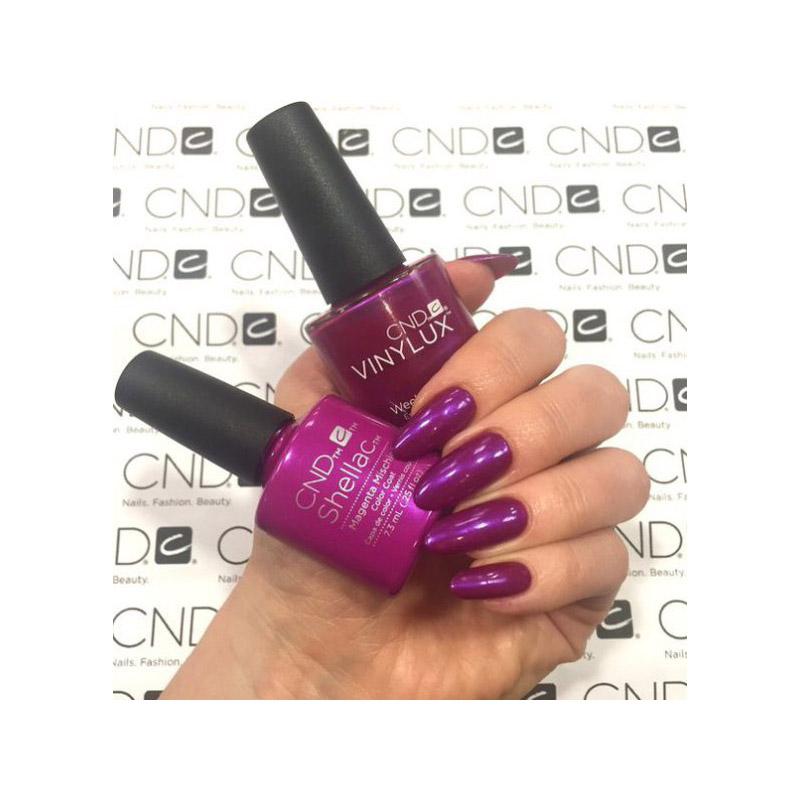 CND Shellac Art Vandal Magenta Mischief фиолетово-розовый, 7,3 мл, фото 2, 339.00 грн.