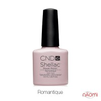 CND Shellac Romantique бледный молочно-розовый, 7,3 мл