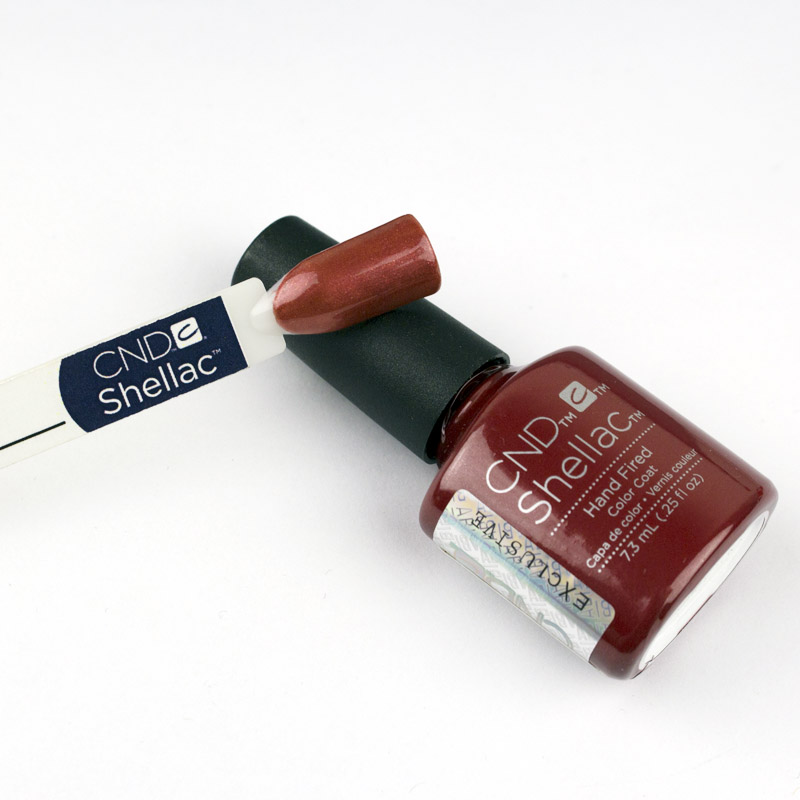 CND Shellac Craft Culture Hand Fired бургунди-бордо, 7,3 мл, фото 2, 299.00 грн.