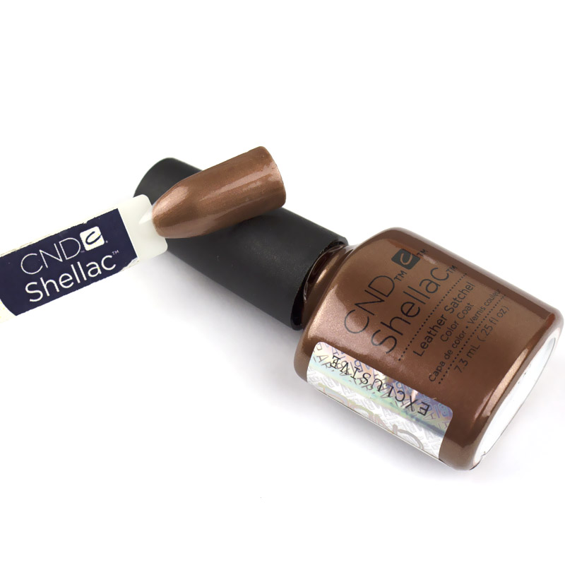 CND Shellac Craft Culture Leather Satchel терракотовый, 7,3 мл, фото 2, 339.00 грн.