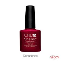 CND Shellac Decadence темный бордово-красный, 7,3 мл
