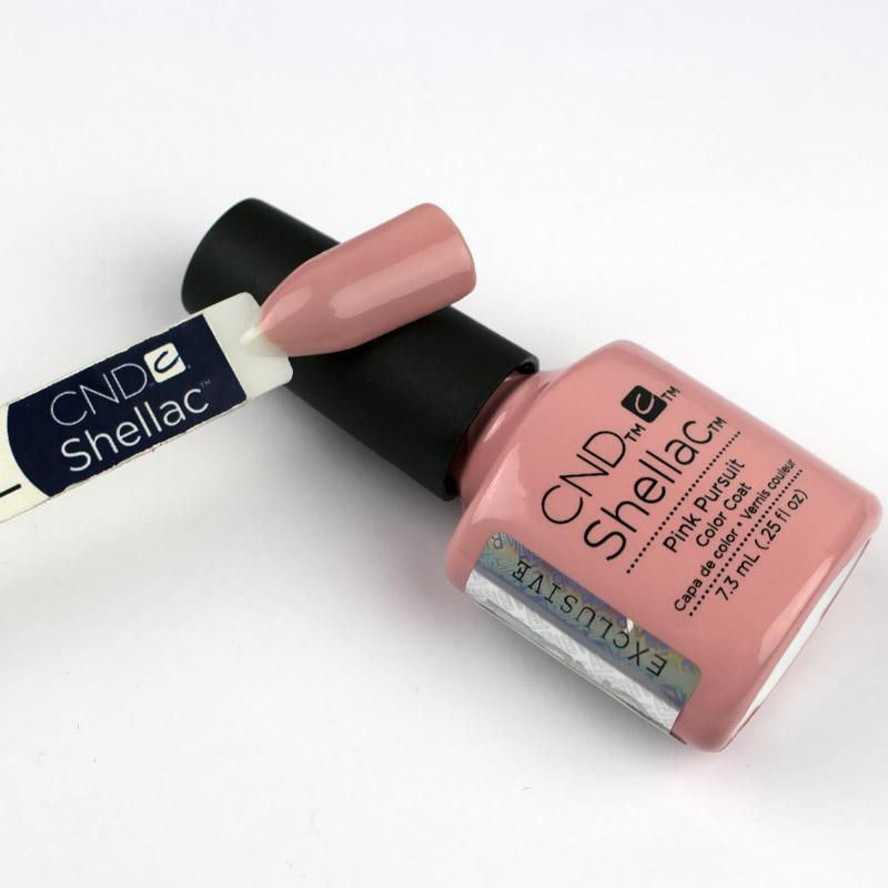 CND Shellac Flirtation Pink Pursuit кремовый розовый, 7,3 мл, фото 2, 299.00 грн.