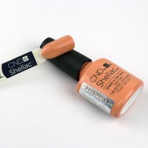 CND Shellac Rhythm & Heat Shells In The Sand мягкий нежно-персиковый, 7,3 мл