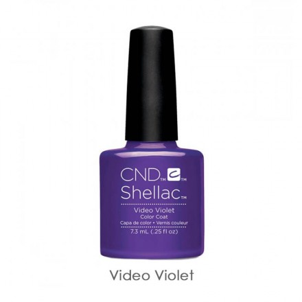 CND Shellac Video Violet фиолетовый, 7,3 мл, фото 1, 339.00 грн.