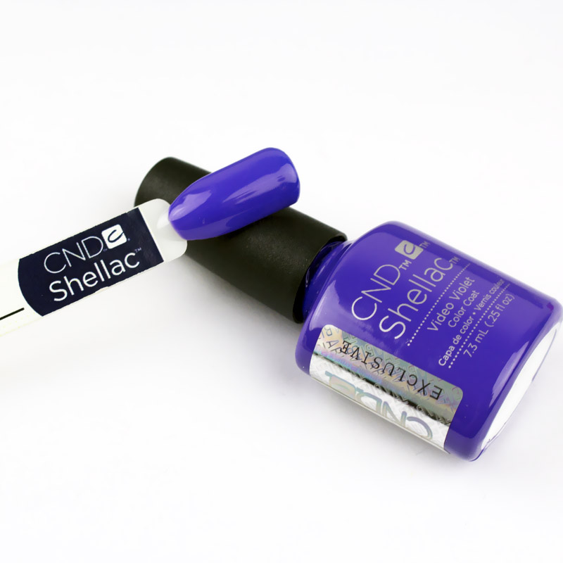 CND Shellac Video Violet фиолетовый, 7,3 мл, фото 2, 339.00 грн.