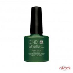 CND Shellac Rhythm & Heat Palm Deco травяной зеленый, 7,3 мл