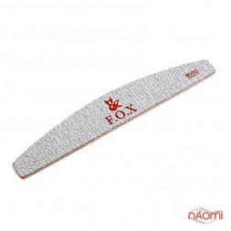 Пилка для искуственных ногтей F.O.X 80/80, полукруг