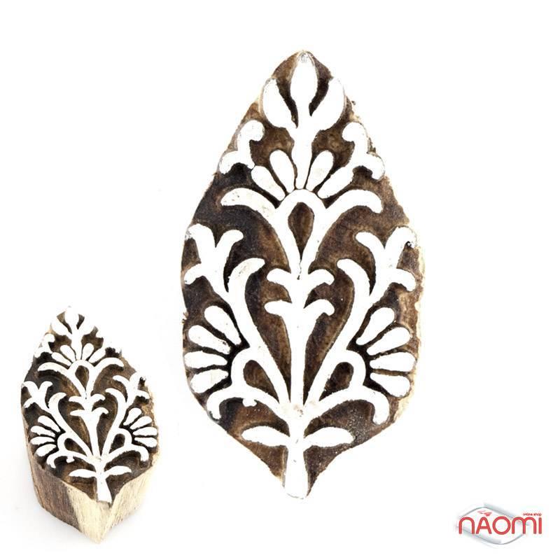 Штамп деревянный Каламкари 02, фото 1, 70.00 грн.
