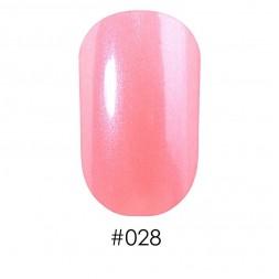 Лак Naomi 028 ніжний перламутрово-кремовий з рожевим відтінком, 12 мл