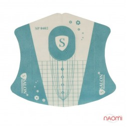 Формы для наращивания ногтей Salon Professional, для прозрачного геля 0402, 20 шт.