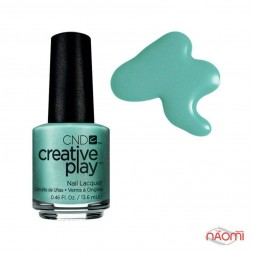 Лак CND Creative Play 429 My Mo Mint, зелено-голубой, 13,6 мл