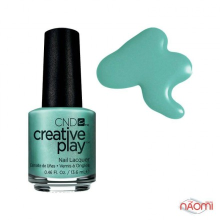 Лак CND Creative Play 429 My Mo Mint, зелено-голубой, 13,6 мл, фото 1, 119.00 грн.