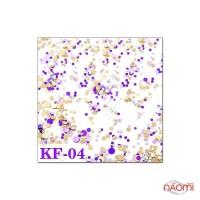 Декор для ногтей конфетти (камифубуки) KF 004