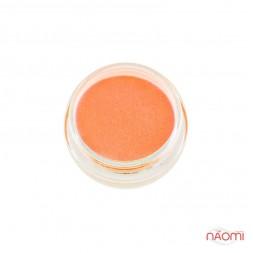 Акриловая пудра, Global Fashion, цвет оранжевый неон