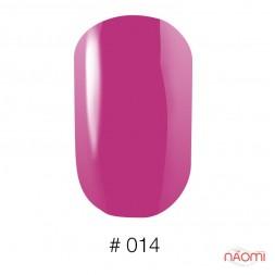 Лак Naomi 014 малиновая фуксия, 12 мл
