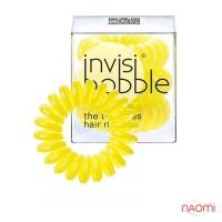 Резинка-браслет для волос Invisibobble Yellow Submarine, цвет желтый, 30х16 мм, 3 шт.