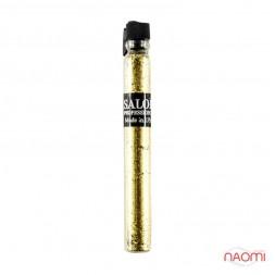 Блестки Salon Professional, размер 008 006 цвет золото, в пробирке