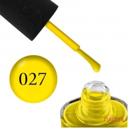 Лак NUB 027 Bee Yellow желтый, 14 мл