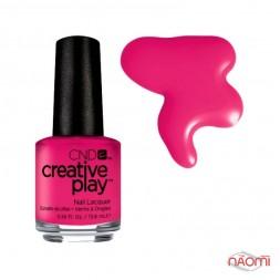 Лак CND Creative Play 411 Well Red, красный, 13,6 мл
