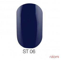 Лак Naomi ST006 синий, 12 мл