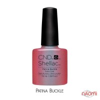 CND Shellac Craft Culture Patina Buckle фиолетовый, 7,3 мл