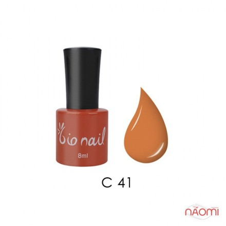 Гель лак BioNail C 041 Orange оранжевый, эмалевый, 8 мл, фото 1, 194.00 грн.