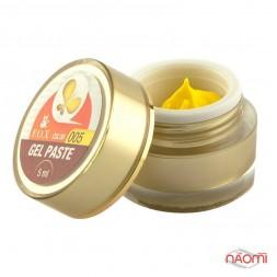 Гель-паста F.O.X. № 005, 5 мл, колір жовтий