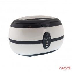 Стерилизатор ультразвуковой Ultrasound Cleaner VGT - 800 для маникюрных инструментов, цвет серый