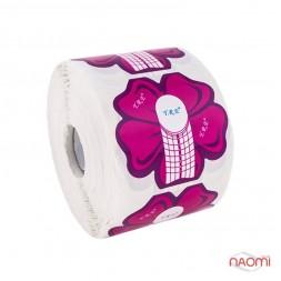 Формы для наращивания ногтей YRE Цветок, красные, 300 шт.