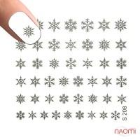 Слайдер-дизайн S 208 s Зима - Сніжинки, Новий рік