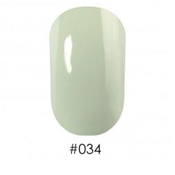 Лак Naomi 034 молочный зеленый, 12 мл