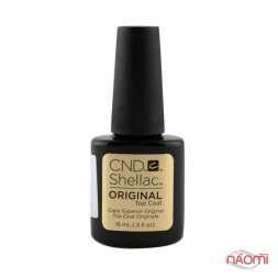 Топ для гель-лака CND Shellac Top Coat, 15 мл