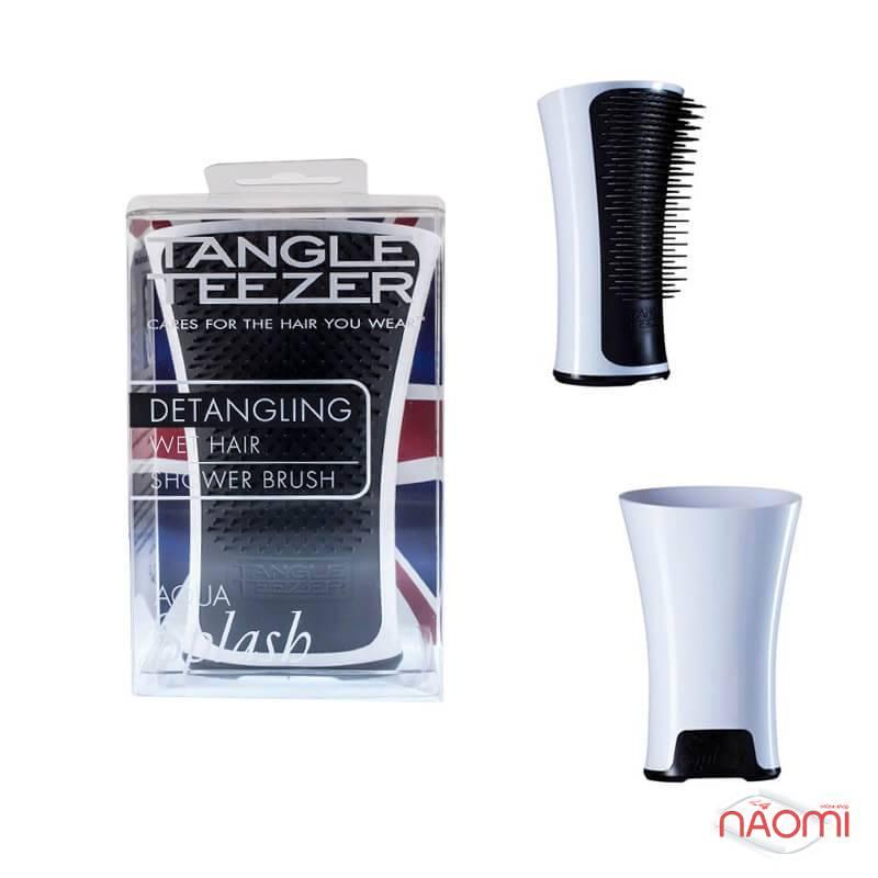 Расческа Tangle Teezer Aqua Splash Black Pearl, цвет черный, фото 2, 390.00 грн.
