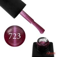 Гель-лак Kodi Professional Moon Light 723 бордово-розовый металлик, 8 мл