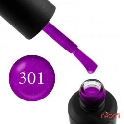 Гель-лак My Nail 301 яркий фиолетовый с мелкими блестками, 9 мл