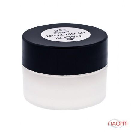 Гель-краска Naomi UV Gel Paint White 5 г, фото 1, 85.00 грн.